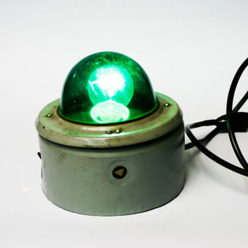 soviet union vintage industrial wall lamp lighting with green glasscover bar lighting