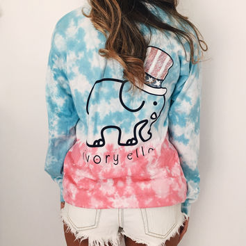Pocketed All American Ombre Print