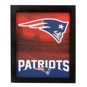 New England Patriots Sign Light Up Wall Style