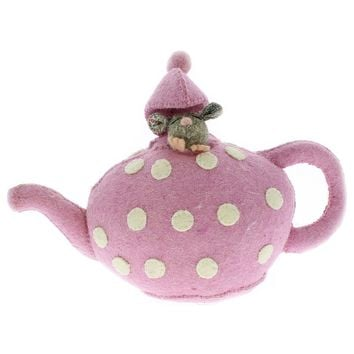 Fiona Walker England Alice in Wonderland Tea Pot Book Stopper