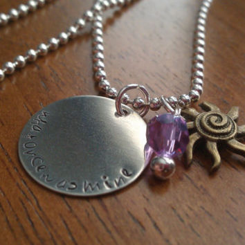 Princess Rapunzel - Disney Inspired Necklace