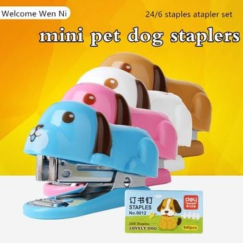 Cute Wooden Sushi Mini Stapler  durable good quality School Office Supply Student Prize Birthday Gift