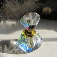 Steampunk glass crystal perfume PICK YOUR POISON!