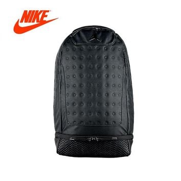 Original New Arrival Authentic Nike Air Jordan Retro 13 Backpack School Bag Sport Outdoor Good Quality Sports Bags 9A1898-023