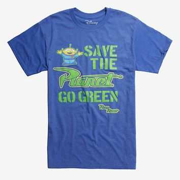 Disney Pixar Toy Story Alien Go Green T-Shirt