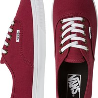 VANS TORTOISE EYELETS AUTHENTIC LO PRO SHOE
