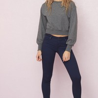 Seaside Navy High Waist Jegging