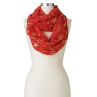 ''Merry Christmas'' Multilingual Infinity Scarf