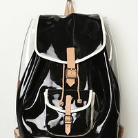 Harper Ave Womens Harper Ave Backpack - Black / Clear, One