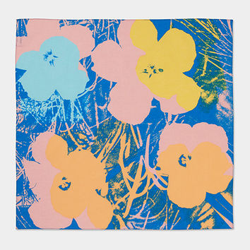 UNIQLO Andy Warhol Flowers Bandana