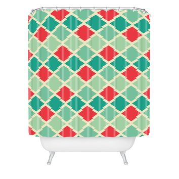 Holli Zollinger Gypsy Stars Shower Curtain
