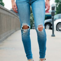 Miley Distressed KanCan Jeans