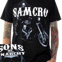 Sons Of Anarchy T-Shirt - Reaper On Bike