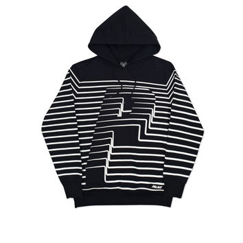 STRIPER HOOD BLACK | Palace Skateboards USA