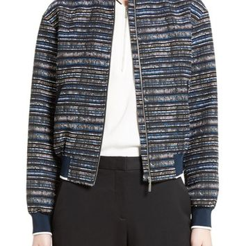 GREY Jason Wu Tweed Bomber Jacket | Nordstrom