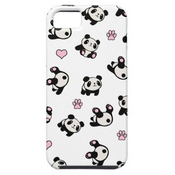 Panda pattern iPhone SE/5/5s case
