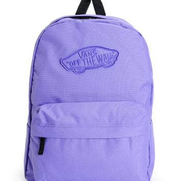Vans Realm Passion Flower Purple Backpack