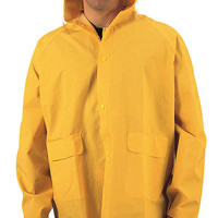 PVC Rain Jacket-Yellow
