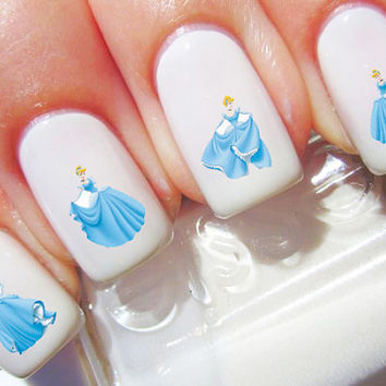 Cinderella Disney Nail Decals
