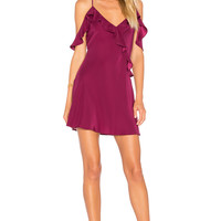 Amanda Uprichard Anika Dress in Mulberry | REVOLVE