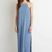 Side-Slit Maxi Dress
