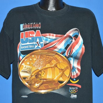 90s USA Olympic Dream Team Basketball t-shirt Extra Large