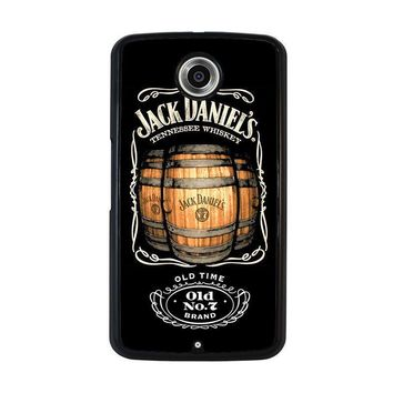 jack daniels nexus 6 case cover  number 1