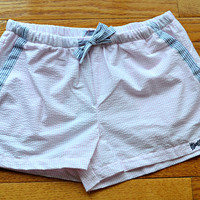 FRATERNITY COLLECTION: Lounge Shorts - Light Pink/Navy
