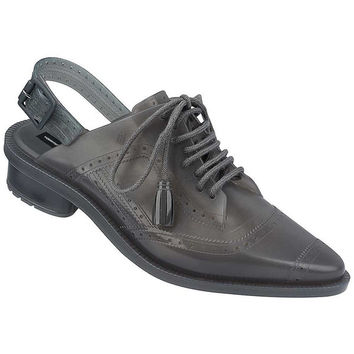 Melissa + Alexandre Herchcovitch Backless Oxford Shoe - Grey