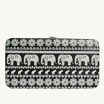 Elephant Rows Hinged Wallet | Wallets & Wristlets | rue21