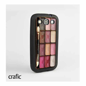Eyeshadow Makeup Set Galaxy S3 Case