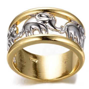 Elephant Stainless steel Ring