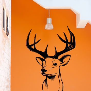 Vinyl Decal Wall Stickers Deer Hunt Hunting Hunter Decor For Garage Man Cave (z1832)