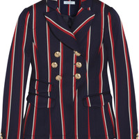 Altuzarra - Seth striped wool and cotton-blend blazer