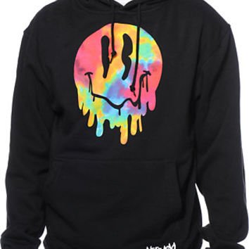 Neff x Aoki Happy Daze Black Pullover Hoodie at Zumiez : PDP