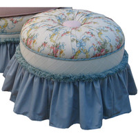 Angel Song 221420101 Blossoms and Bows Adult Princess Stationary Ottoman