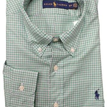 Polo Ralph Lauren Men's Stadard Fit Twill Button-Down Shirt