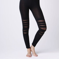 Leggsington Lucy Lightweight Knit Cutout Leggings