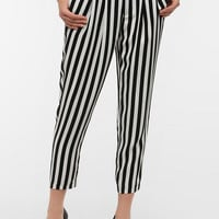 Silence & Noise Pleated Striped Pant