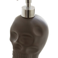 ModCloth Skulls It's a No-Brainer Soap Dispenser