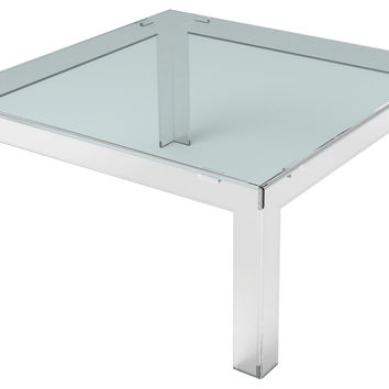 Parsons Square Coffee Table, Acrylic / Lucite, Cocktail Table, Coffee Table Base