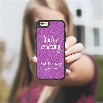 You're Amazing iPhone 6 case by Alice Gosling | Casetify
