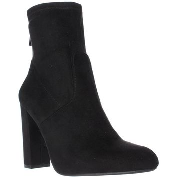 Steve Madden Brisk Stretch Ankle Booties, Black, 5.5 US