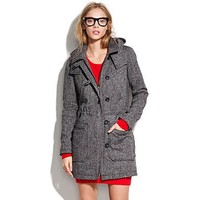 Women's Madewell_Shop_By_Category - JACKETS & OUTERWEAR - Turnstile Tweed Parka - Madewell