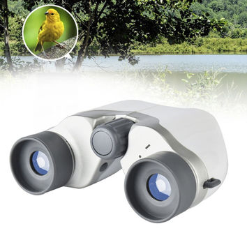 Beileshi All Optical Glass Lens 6X Binocular Telescope Double Cylinder Portable Miniature Paul Teles