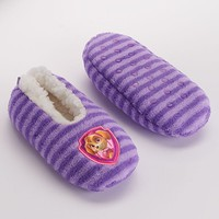 Paw Patrol Skye Slippers - Toddler Girl (Purple)