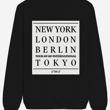 Cities Sweatshirt