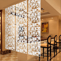 Room Divider/Partition Paravent Hanging Screen; Decorative 4 Pc. Set  40*40CM