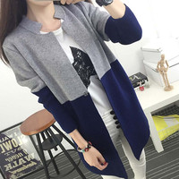 Autumn Winter Women Casual Long Sleeve Knitted Cardigans Crochet Female Sweaters Fashion Top Quality Lady Clothes RAW4010