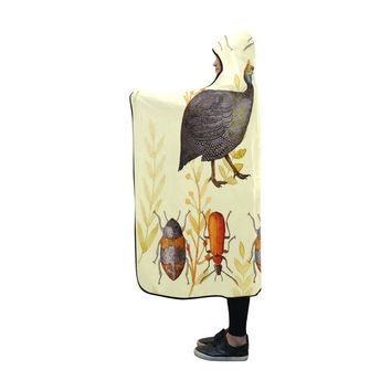 Louisa Catharine Wearable African Art Hooded Blanket 60''x50''